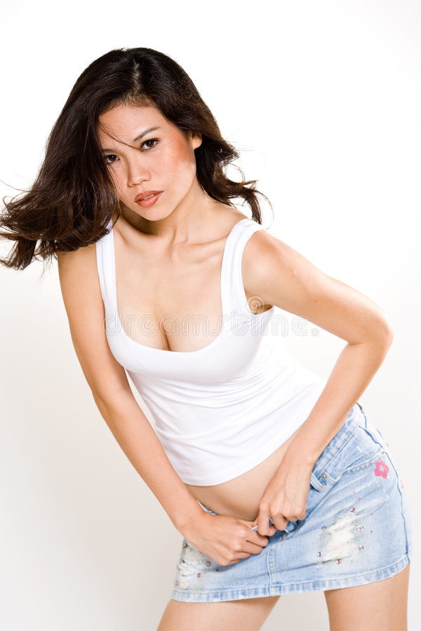 Download Attractive Asian Young Woman Stock Image - Image: 7768829