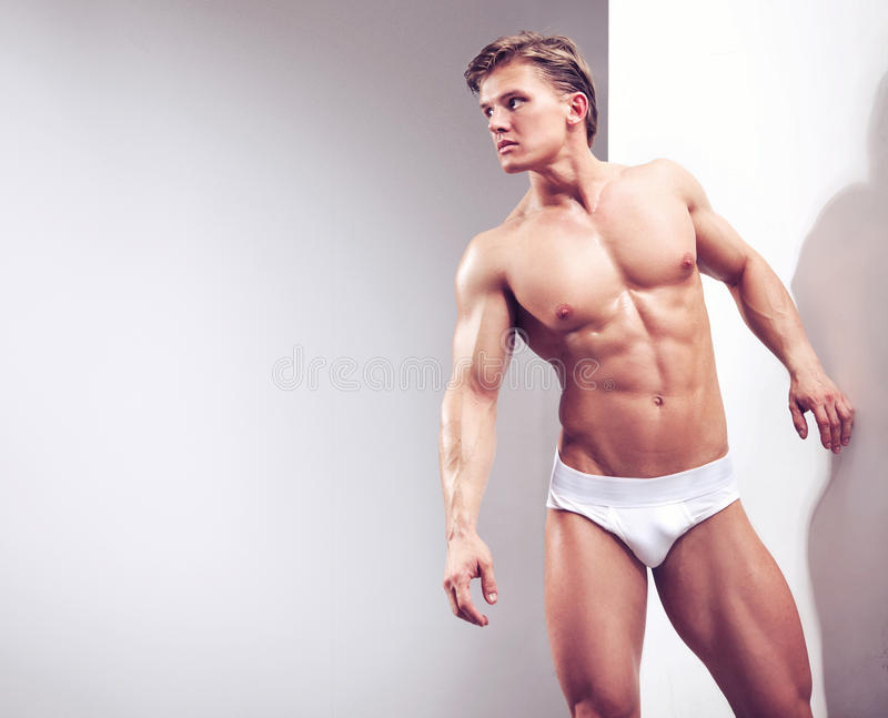 attractive athlete