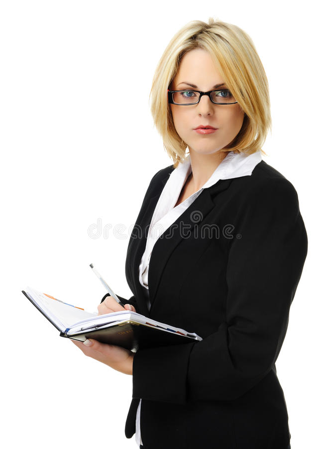 Download Attractive Blond Business Woman Stock Photo - Image: 15511268