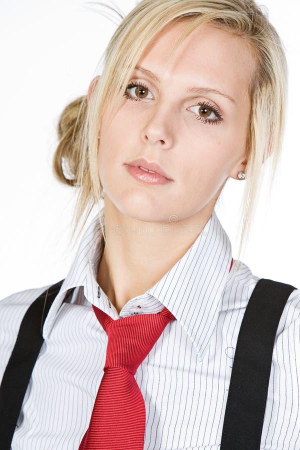 attractive blonde business woman στοκ φωτογραφίες με δικαίωμα ελεύθερης χρήσης
