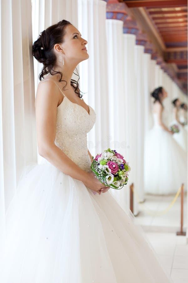Attractive bride stock images