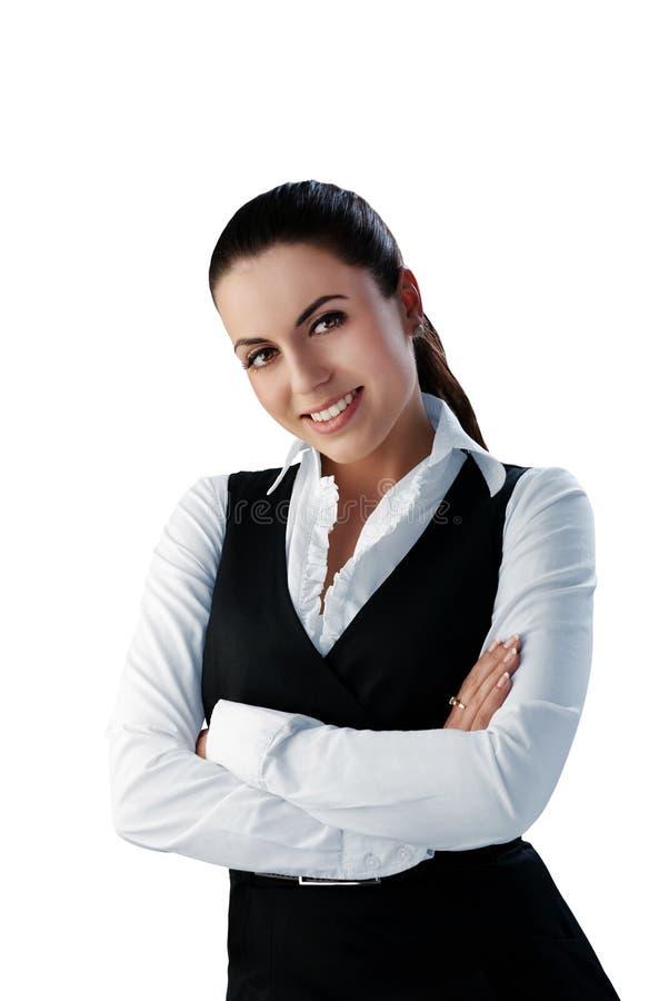 Download Attractive Brunette Businesswoman Stock Photos - Image: 13691263