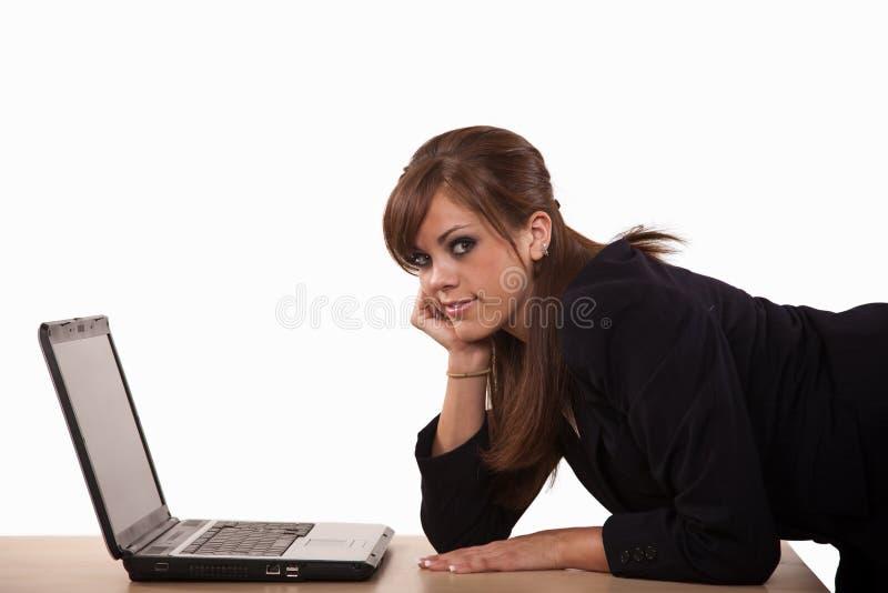 Download Attractive Brunette Caucasian Business Woman Stock Image - Image: 11384841