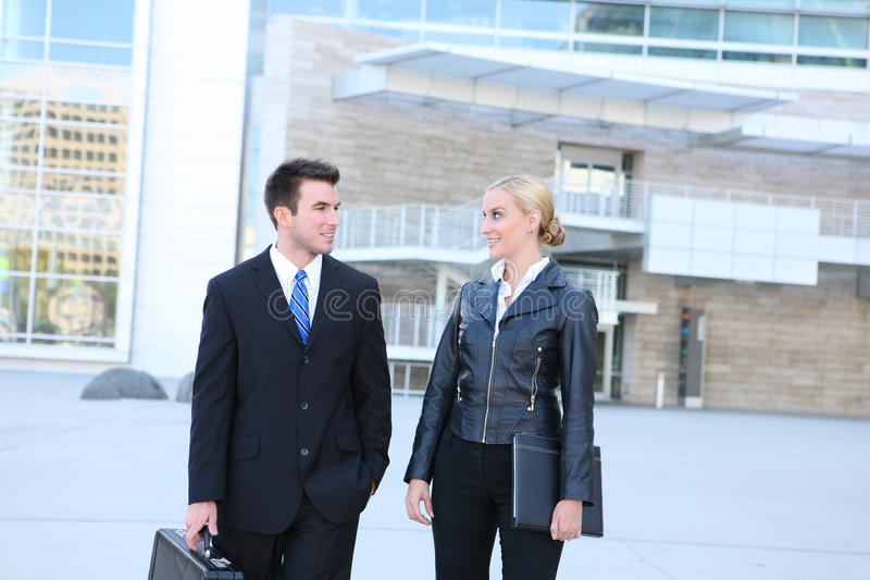 Attractive Business Team stock photo