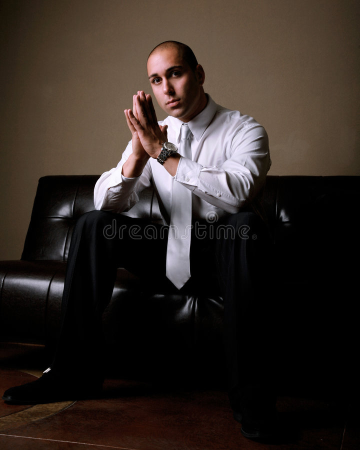 Download Attractive Businessman stock photo. Image of watch, shirt - 5221944