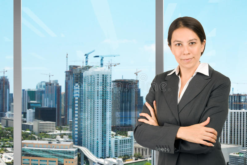 Download Attractive businesswoman stock image. Image of confident - 10746233