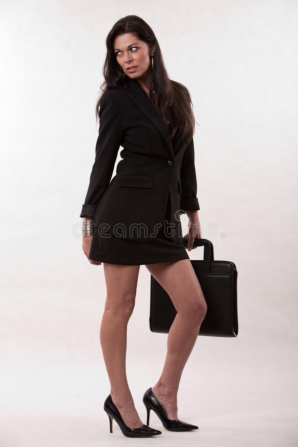 Attractive Businesswoman Royalty Free Stock Photography