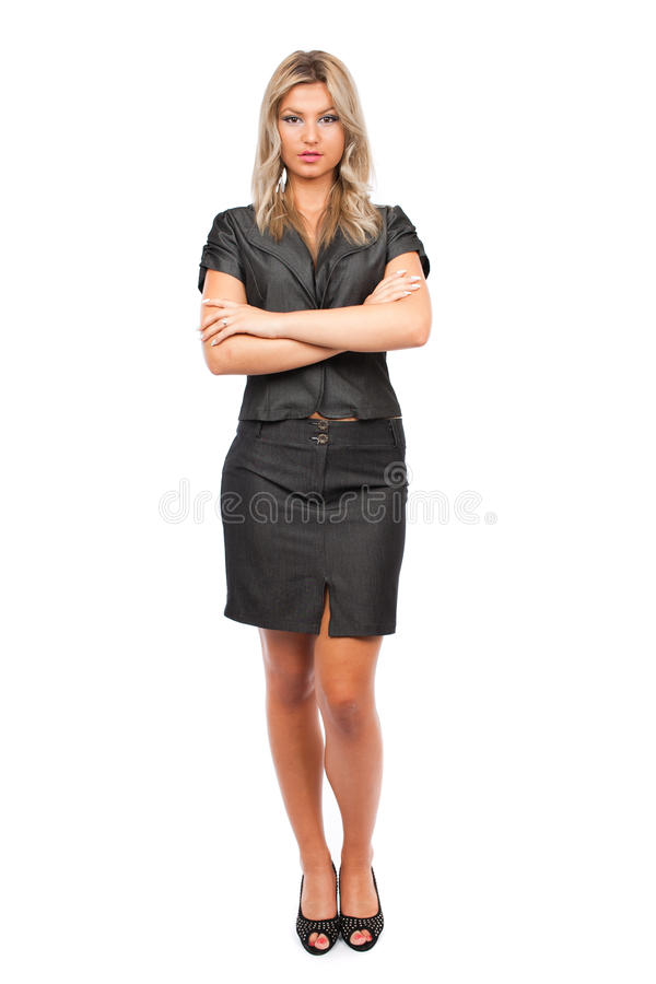 Download Attractive Businesswoman, Full Body Shot Stock Photo - Image: 16230066