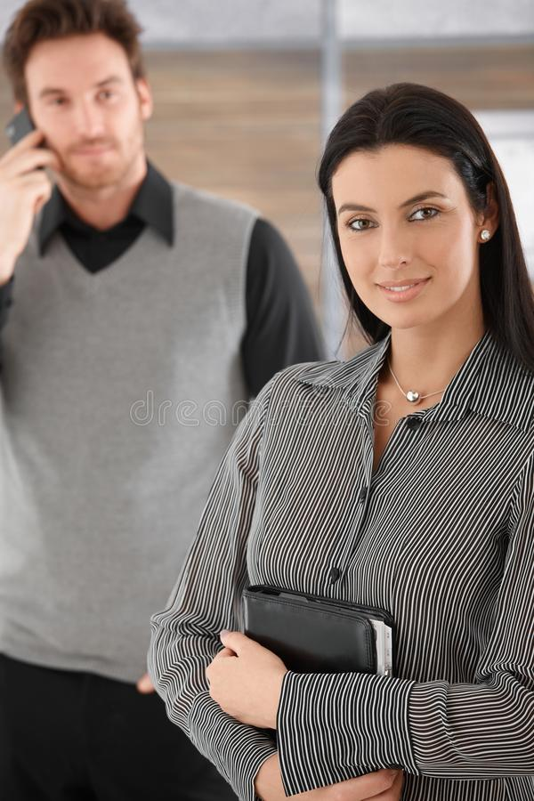 Download Attractive Businesswoman Smiling Stock Photo - Image: 20050310