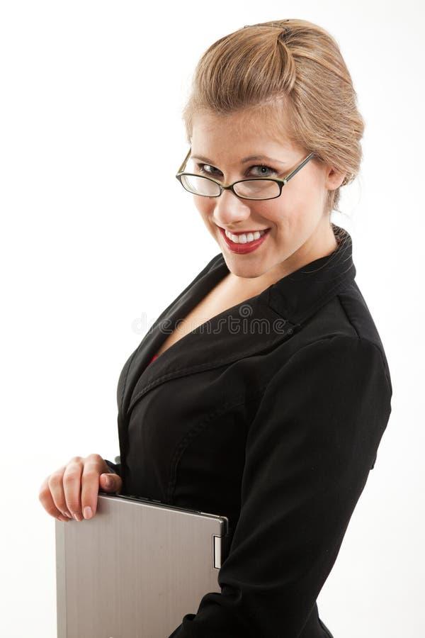 Download Attractive Caucasian Blond Businesswoman Stock Photo - Image: 22364772