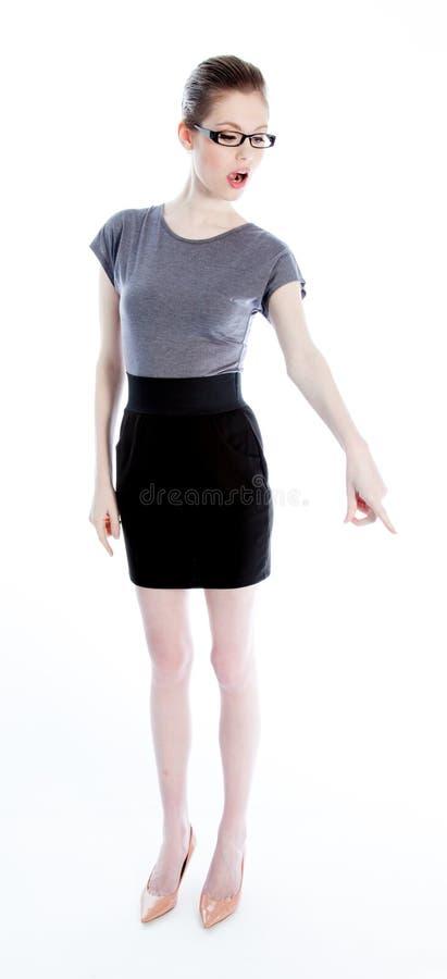 Download Attractive Caucasian Girl In Her 30 Shot In Studio Stock Image - Image of full, ethnicity: 34200901