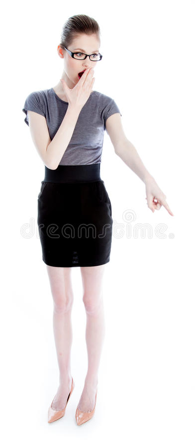 Download Attractive Caucasian Girl In Her 30 Shot In Studio Royalty Free Stock Photography - Image: 34200917