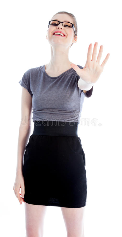 Download Attractive Caucasian Girl In Her 30 Shot In Studio Stock Photo - Image: 34201010