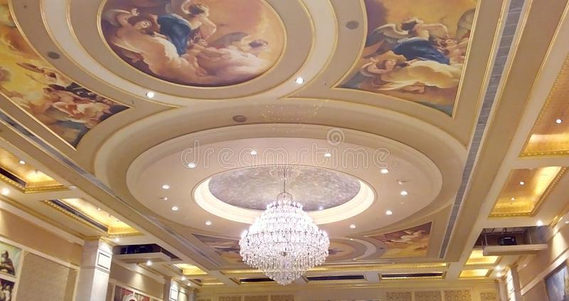 Attractive Ceiling royalty free stock photography