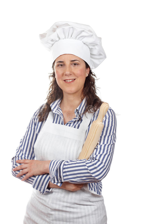 Download Attractive cook woman stock image. Image of funny, catering - 14654525