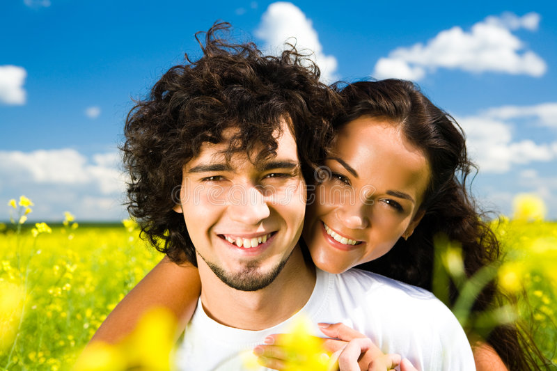 Download Attractive couple stock image. Image of love, people, face - 6133769