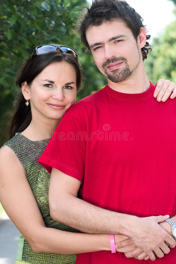 attractive couple στοκ εικόνες