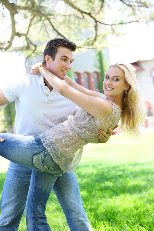 Attractive Couple In Love Royalty Free Stock Photos