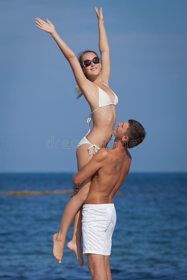 Download Attractive Couple At The Sea Royalty Free Stock Photo - Image: 30471315
