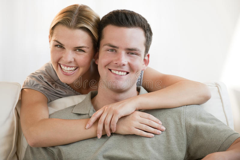 Download Attractive Couple Smiling stock image. Image of happy - 10546151