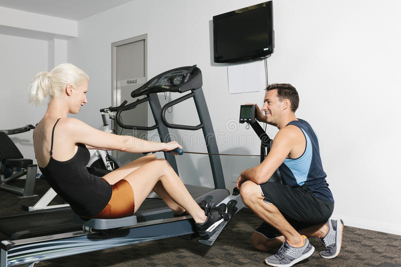 Download Couple In Gym Stock Image - Image: 29935321