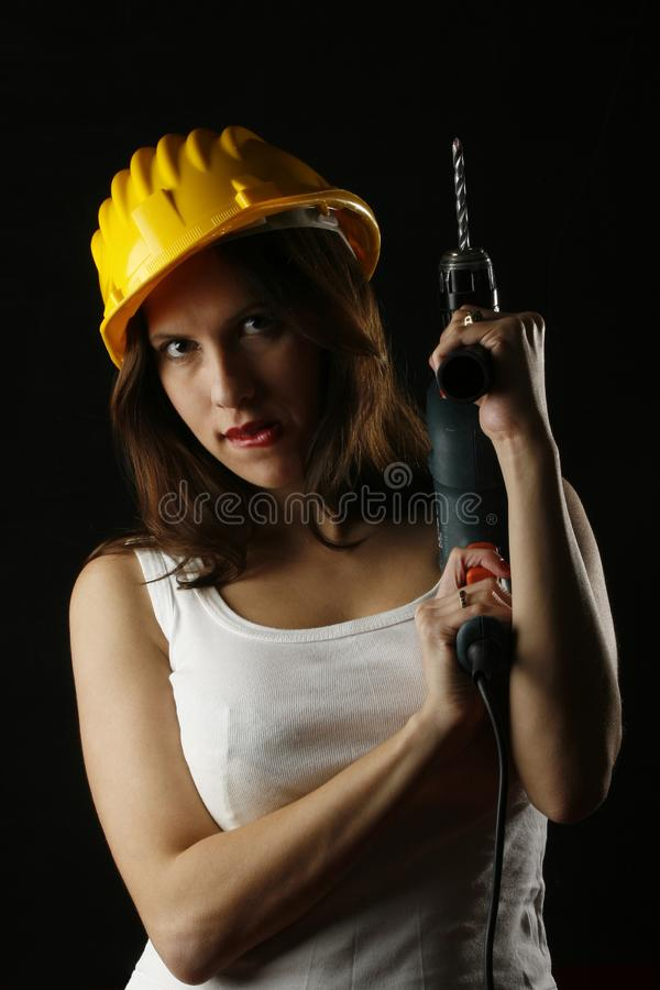 Download Attractive DIY stock image. Image of female, home, work - 2014991