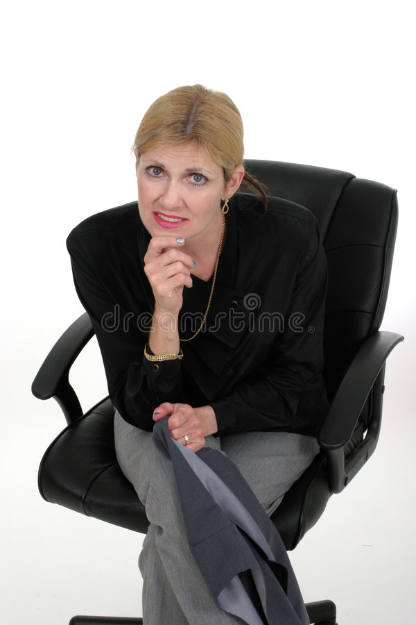 Attractive Executive Business Woman 4 royalty free stock photos