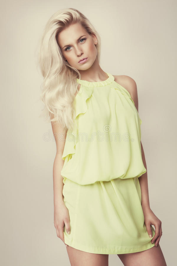 Free Attractive Fashion Blonde Girl Stock Photos - 31636913