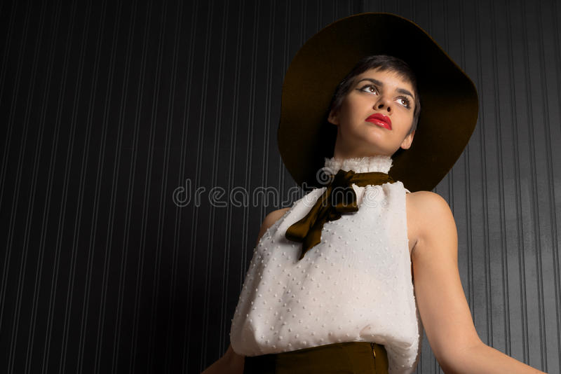 Attractive Fashionable Native American Young Adult royalty free stock images