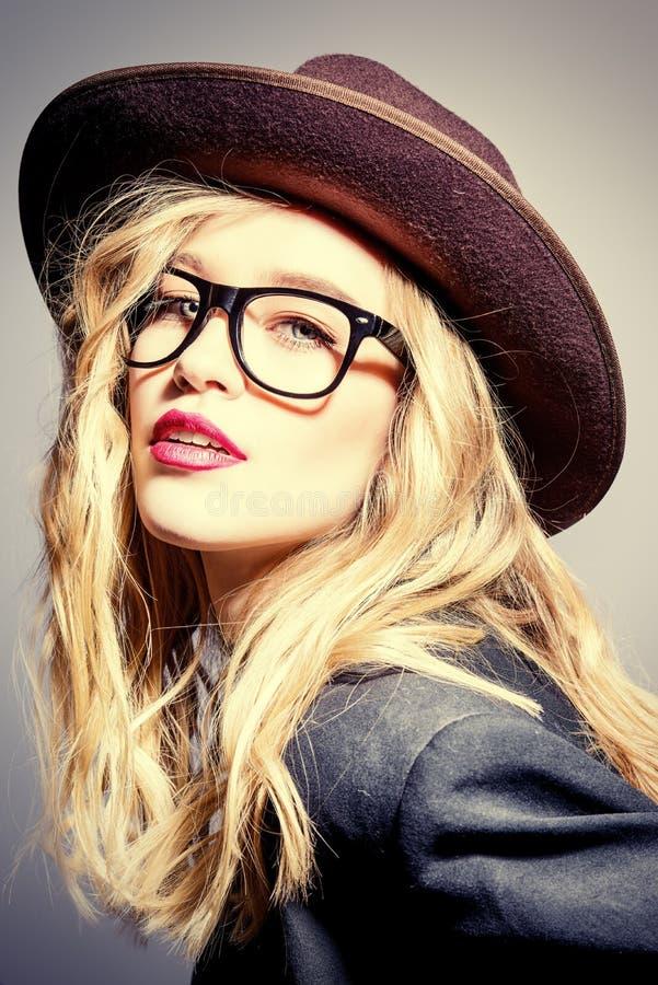 Fashionable optics style royalty free stock photography