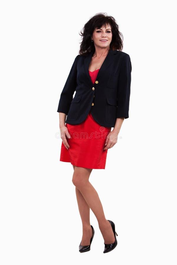 Download Attractive Forties Hispanic Brunette Businesswoman Stock Image - Image: 12817247