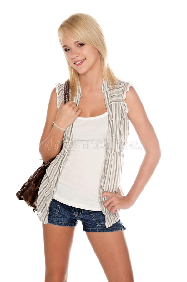 Free Attractive Girl Next Door Royalty Free Stock Images - 13381449