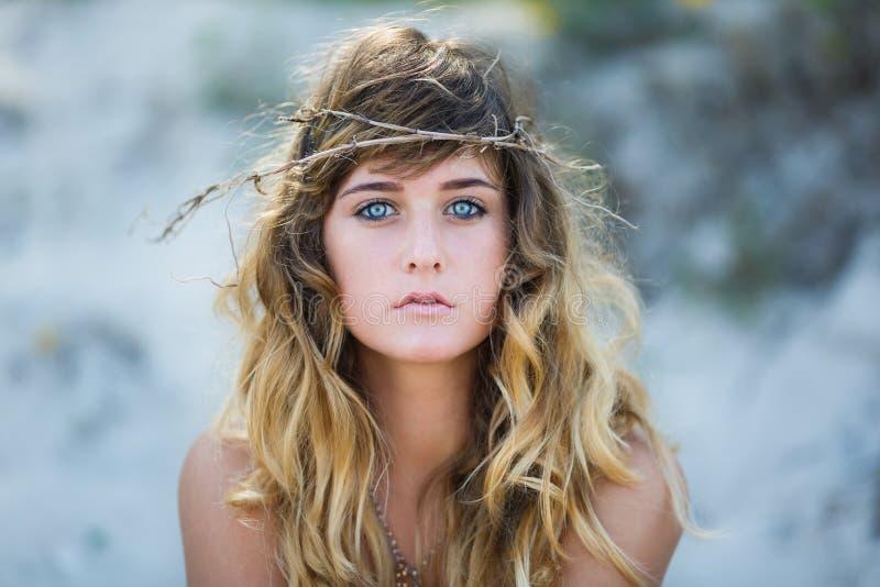 attractive girl portrait young στοκ εικόνα