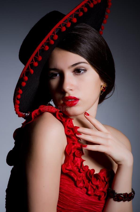 Attractive girl royalty free stock photos