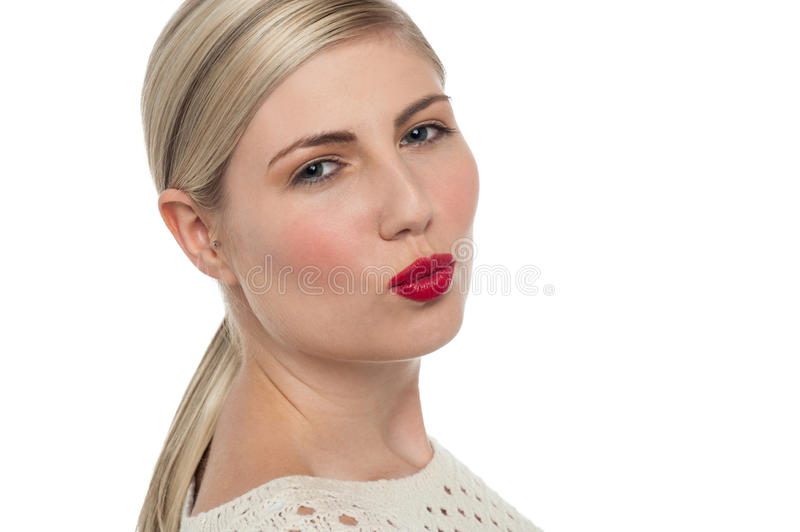 Download Attractive Girl About To Kiss You Stock Image - Image: 28796393