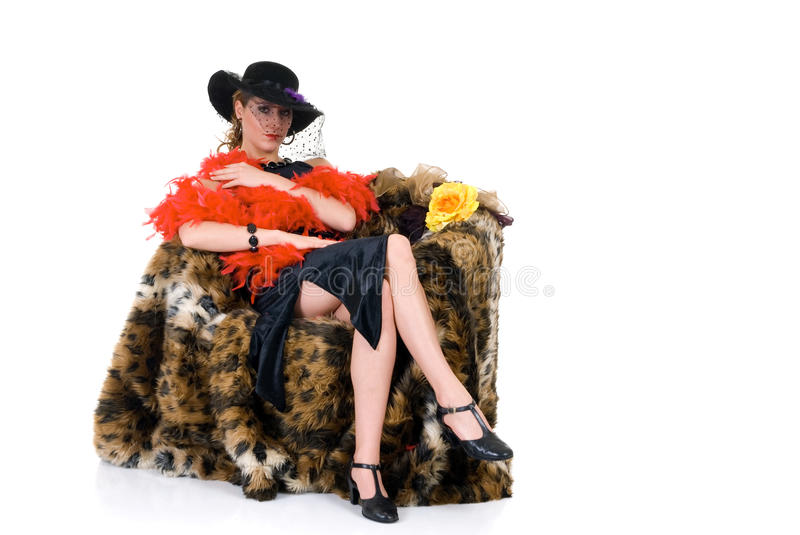 Attractive Glamor Lady Royalty Free Stock Image
