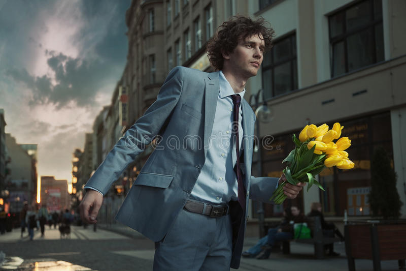 Download Attractive guy stock photo. Image of contemporary, date - 19317004