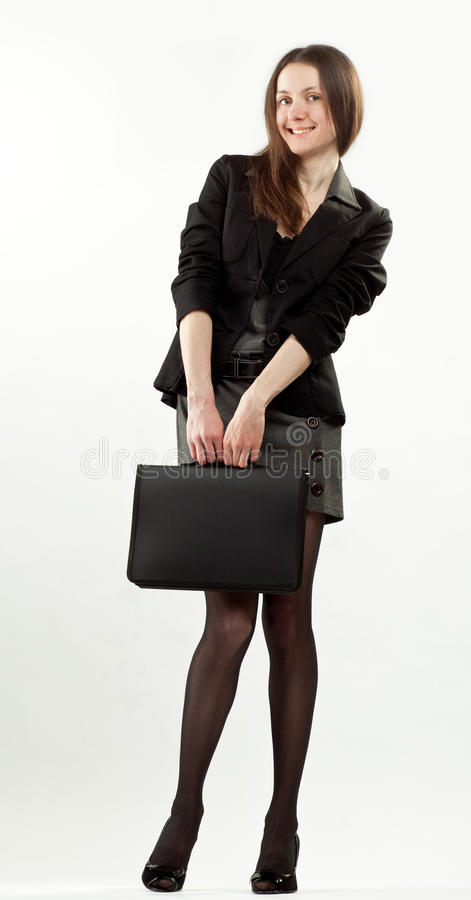 Download Attractive Happy Young Businesswoman Stock Photo - Image: 23431914