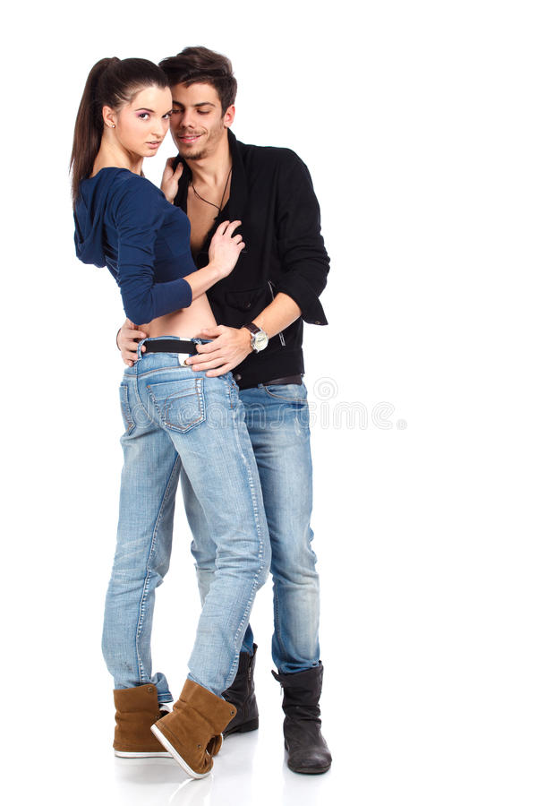 Download Attractive Happy Young Couple Stock Image - Image: 23420169