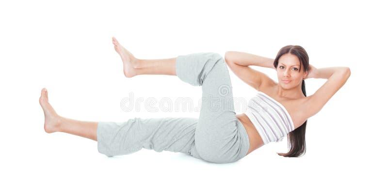 Download Gymnastics woman stock image. Image of exercise, gymnastic - 30022513