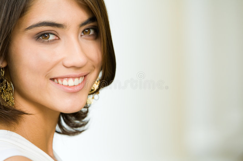 Attractive lady stock photography