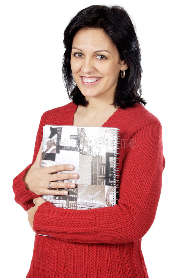 Download Attractive Lady Loving A Book Stock Photo - Image: 1828154