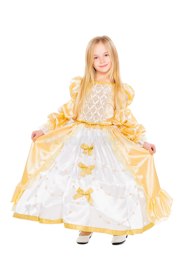 Attractive little girl stock photos