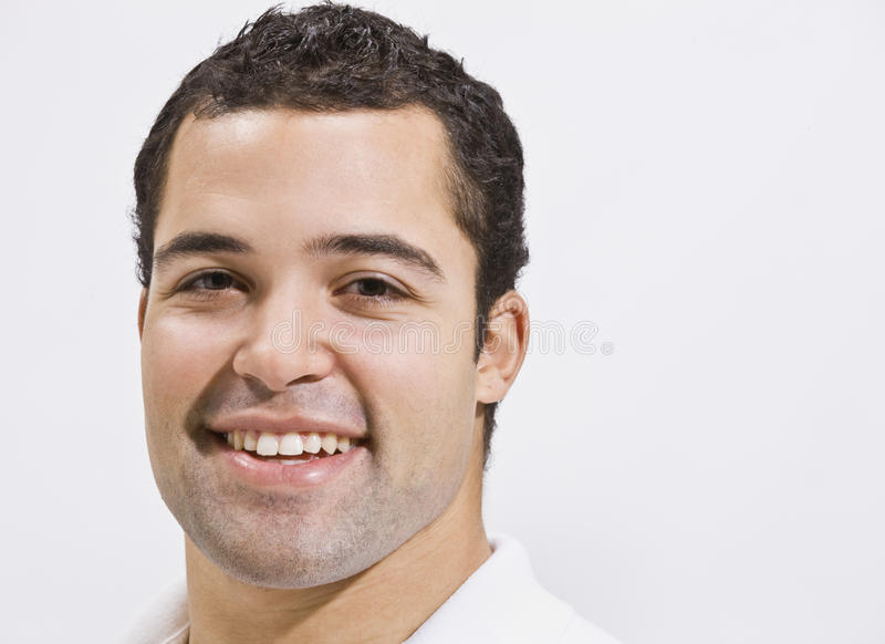 Attractive male head shot royalty free stock image