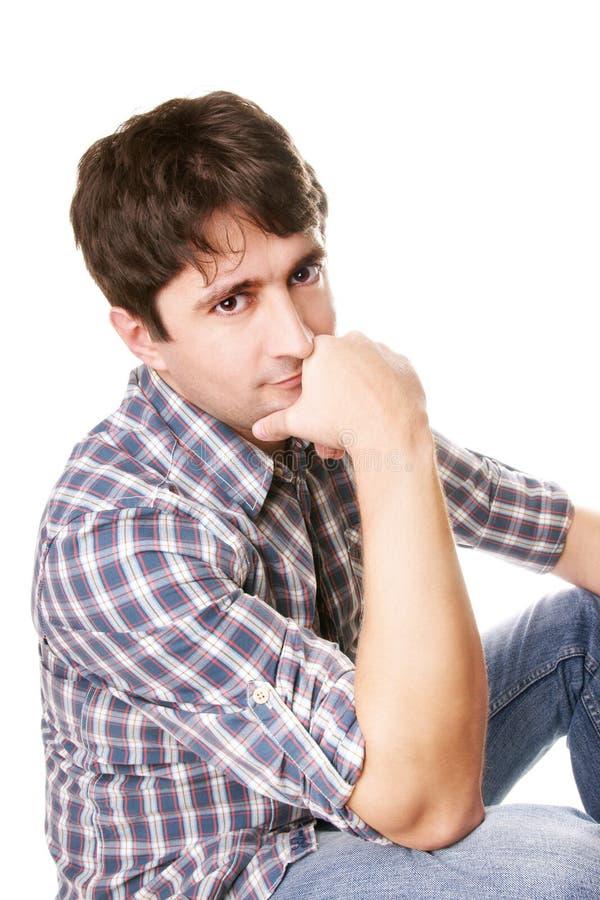 Attractive man stock image
