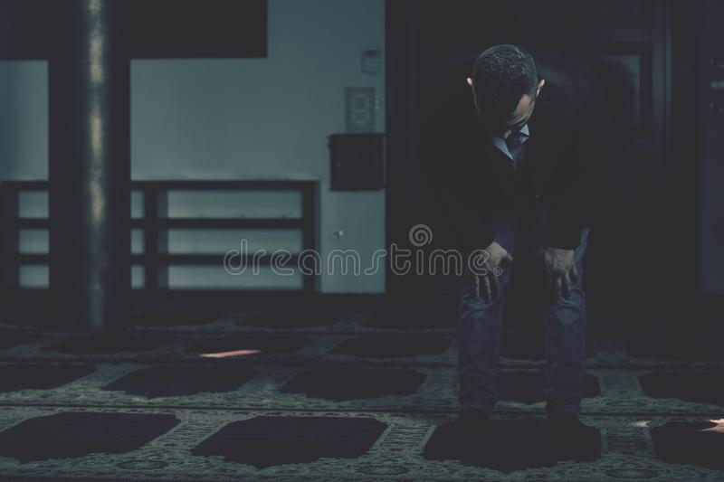 Portrait Of Young Muslim Man royalty free stock images