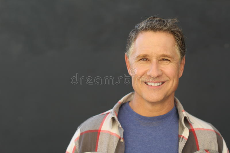 Attractive mature male stock photos