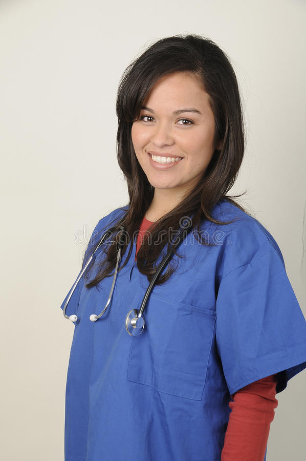 Attractive Medical Technician stock photo