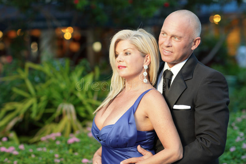 Attractive Middle Aged Couple Stock Image - Image Of Married, Blond 18432755-7716