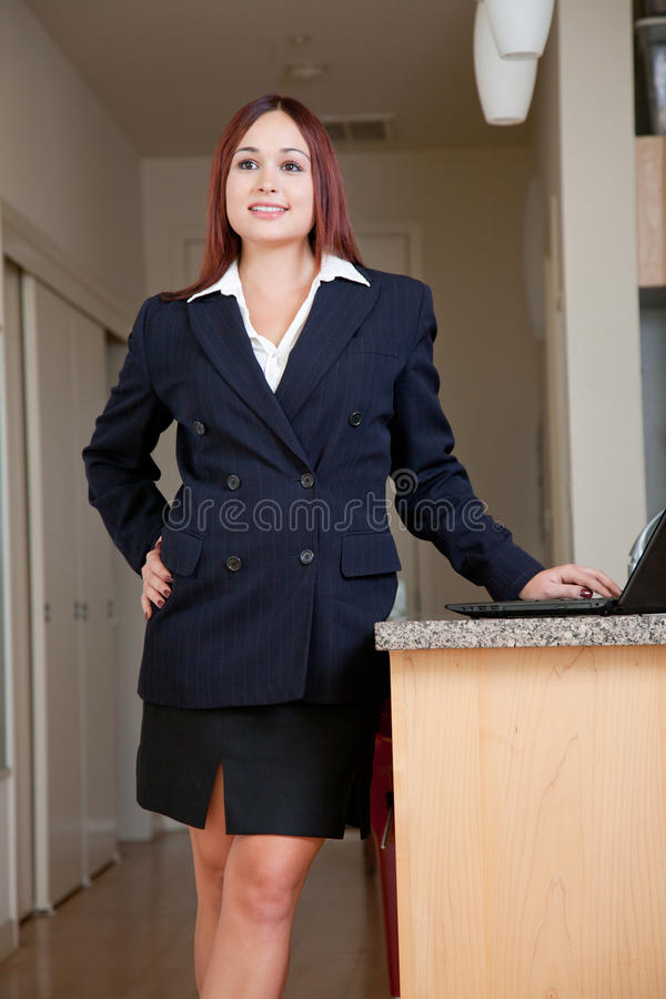Download Attractive Native Caucasian Business Woman Stock Image - Image: 28487329